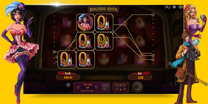 Jeu casino Playson Burlesque Queen gratuit