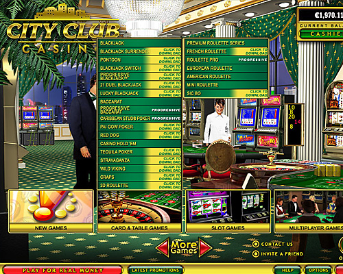 casino city club