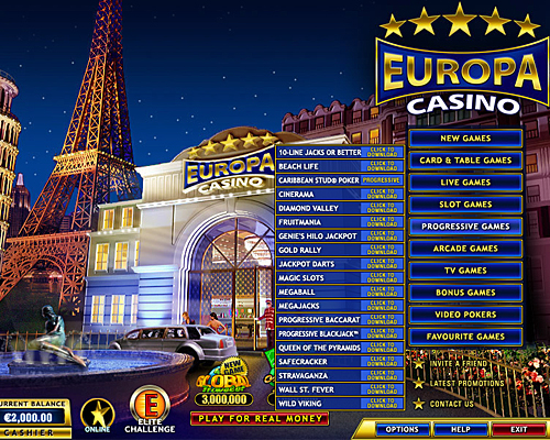 best online casinos europe