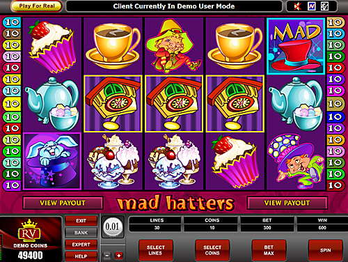 Free flash slots machines | Mad Hatters slots