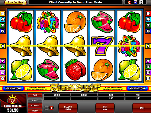 flash video slots