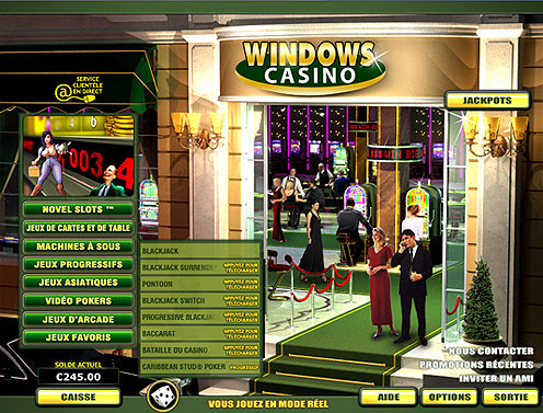 Windows Casino : le top des casinos en ligne