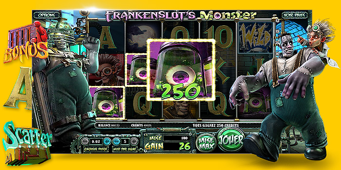Machine à sous Frankenslot's Monster de Betsoft Gaming - Bandit Manchot gratuit