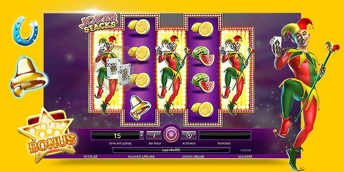Machine à sous bonus iSoftBet Joker Stacks