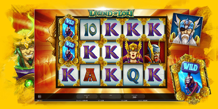 Machine à sous Legend of Loki d'iSoftBet