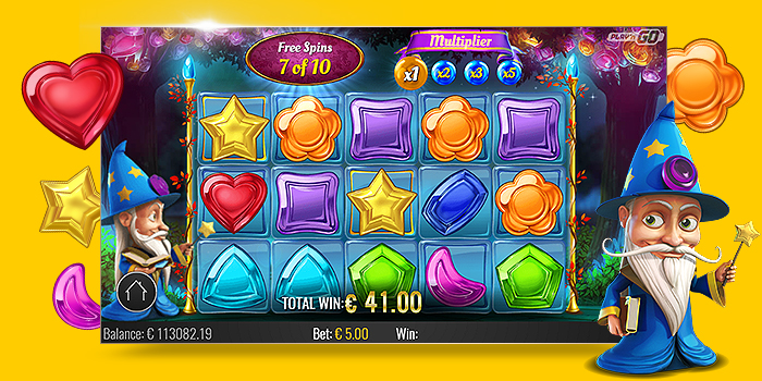 Jouer machine à sous gratuite Wizard of Gems