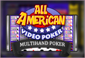 Video Poker (Multi-Hand) All American