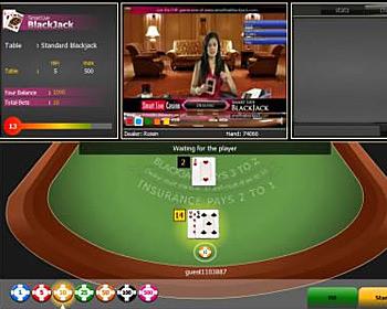 Top Live Dealer Blackjack Casinos